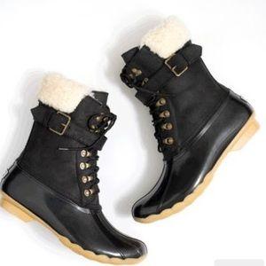 J.Crew Women's Sperry Shearwater Buckle Boots